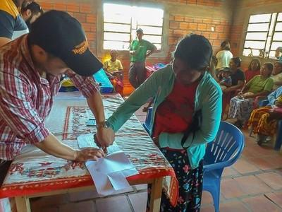 Destinan millonario capital semilla a familias indígenas del Chaco