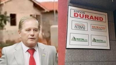 HOY / ¿Conflicto de intereses?: Durand hizo millonarias inversiones en rubro inmobiliario