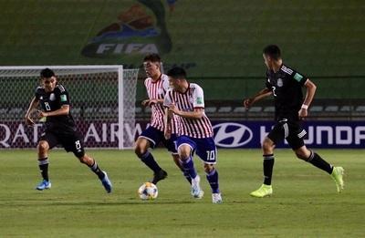 Albirroja debuta con empate en el Mundial Sub 17