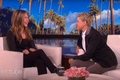Jennifer Aniston anunció que está trabajando en algo junto a sus compañeros de Friends