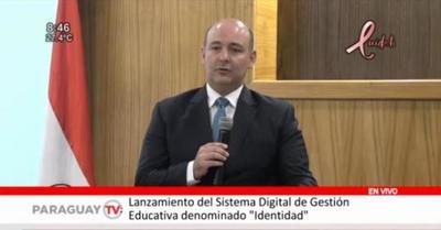 """Presentan Sistema Digital de Gestión Educativa """"Identidad"""""""