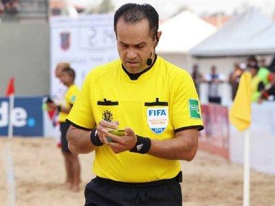 FIFA designa a 24 árbitros para el Mundial de Fútbol Playa de Asunción