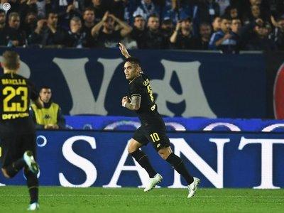 Lautaro y Lukaku permiten al Inter dormir líder