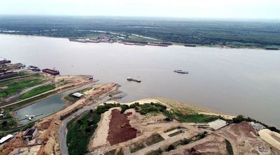 ANNP declara en alerta hidrológica el río Paraguay