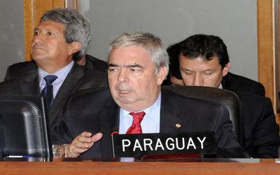 """Diputado tildó a exembajador Saguier como """"el sicario"""" del Tratado de Itaipú"""