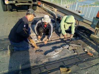 MOPC realiza reparaciones en el Puente Nanawa
