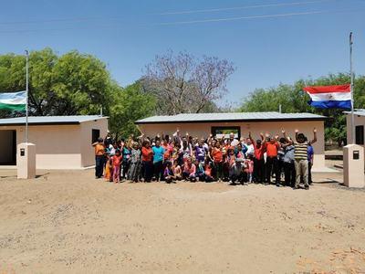 Entregaron 31 nuevas viviendas a comunidad indígena de Laguna Negra
