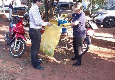 Funcionarios de la Décima Región Sanitaria realizan Minga Ambiental