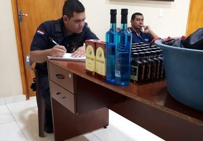 Cae delivery de caña en cárcel de Villarrica