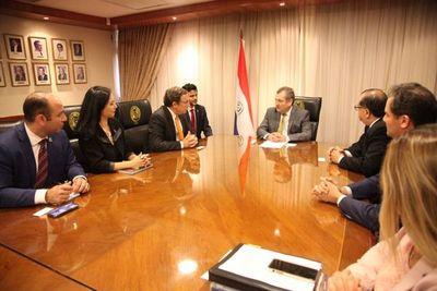 Titular de la Corte recibió al administrador del PNUD