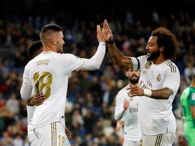 El Real Madrid encuentra la tranquilidad