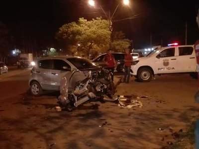 Grave accidente en Concepción