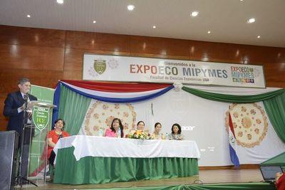 ExpoEco Mipymes se desarrolla en la Facultad de Economía