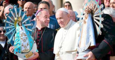 Inglaterra devolvió Virgen de Luján a la Argentina