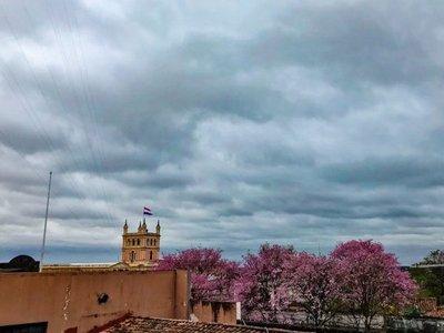 Jueves caluroso con lluvias dispersas, prevé Meteorología