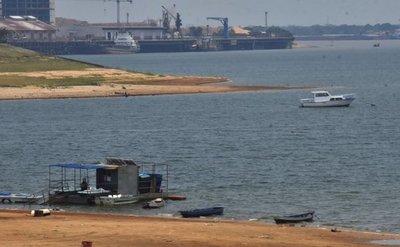 Bajo nivel de los ríos pone en riesgo el transporte fluvial