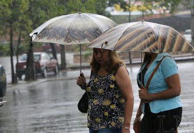 Pronostican tormentas para Central desde esta mañana