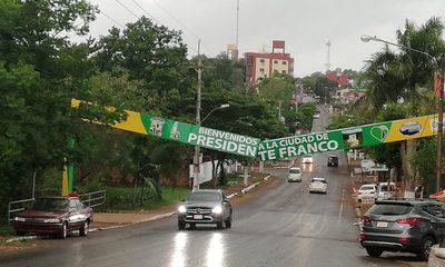 Viento destruye cartel en Franco