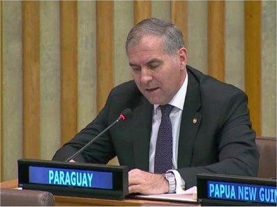 """Paraguay insta en ONU a no permitir """"uso distorsionado"""" de refugio"""