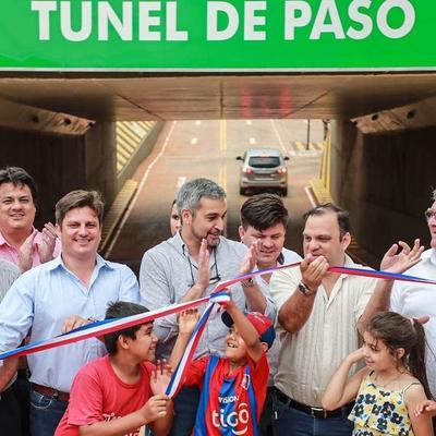 Ex Campo 9 inaugura túnel que conecta polos industrial y comercial de la ciudad