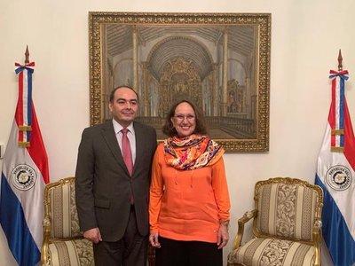 Secretaria general de la Segib destaca rol de Paraguay en la cooperación iberoamericana