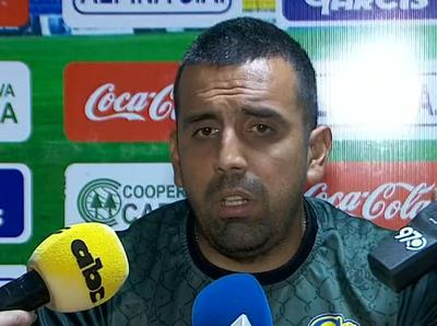 Carlos Recalde califica el empate contra San Lorenzo