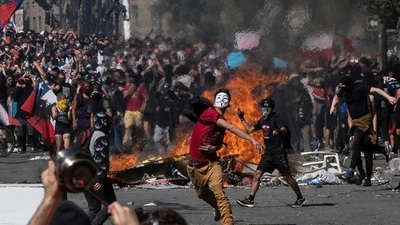 """Estados Unidos denunció """"actividades rusas"""" para """"fomentar el conflicto"""" en Chile"""