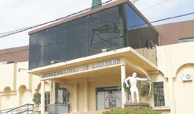 Allanan Municipalidad de Lambaré
