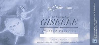 "Gala de Ballet ""Giselle"", celebrando 30 años de ""Lupe Studio"""