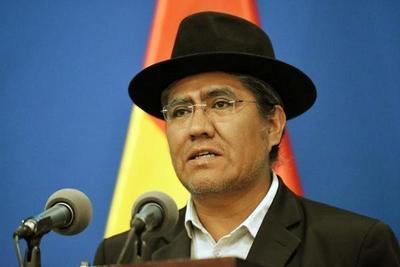 Canciller de Bolivia retó a la oposición a que presente pruebas de fraude a la OEA