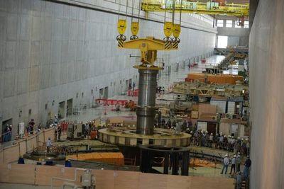 Retiran turbina de la hidroeléctrica Yacyreta