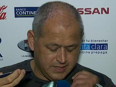 Francisco Arce reconoce falta de reacción