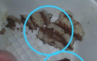 Entregan a niño torta que contenía pedazos de vidrios en CDE
