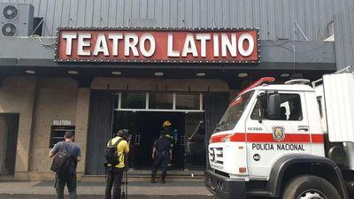 Suspenden funciones en el Teatro Latino