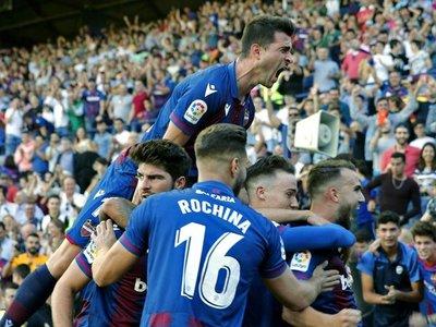Levante remonta al Barcelona en una gran segunda parte