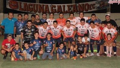 Laguna Galeano marcha en 2º lugar de la Liga Limpeña