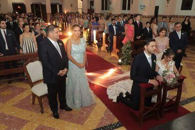 Patricia y Atilio se casaron