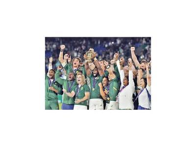 Sudáfrica recupera el trono en el rugby