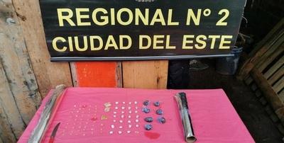 Detienen a distribuidor de crack y marihuana en Hernandarias