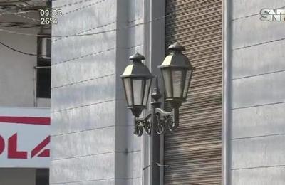 El Paseo de las Luces se quedó sin luces