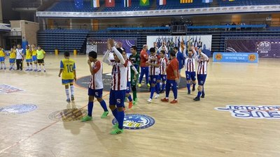 Paraguay, campeón invicto del Mundial de fútbol de salón C13