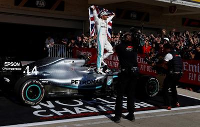 Lewis Hamilton consigue el hexacampeonato en la Fórmula Uno