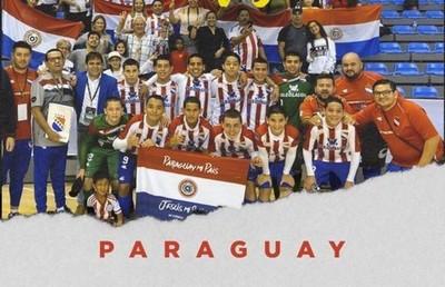 Paraguay se coronó campeón del Mundial de Fútbol de Salón C13