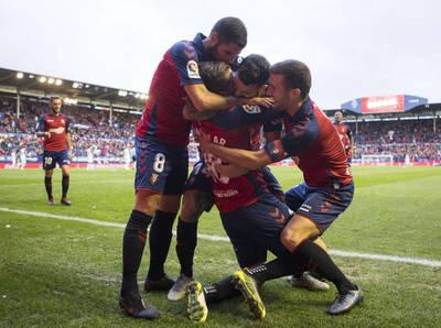 Osasuna se hace fuerte en casa y golea al Deportivo Alavés
