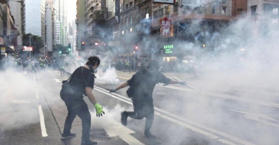 Desastre ya otra vez en Hong Kong