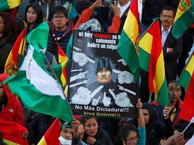Oposición da ultimátum a Morales y convoca a militares en Bolivia