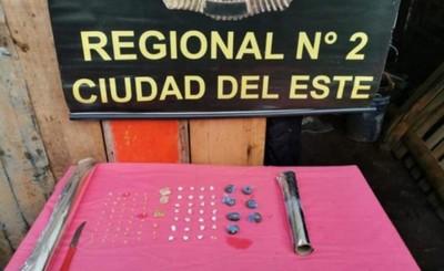 Supuesto distribuidor de drogas detenido en Hernandarias