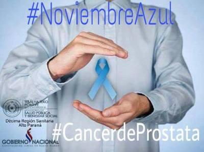 Noviembre azul: Instan al control prostático