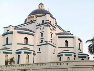 Ya está lista la Basílica azul de Tupasy Caacupé