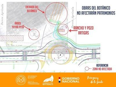El Corredor Vial Botánico no afectará el patrimonio de Artigas